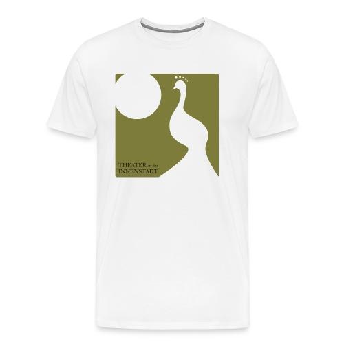 Theater Logo Pfau - Männer Premium T-Shirt