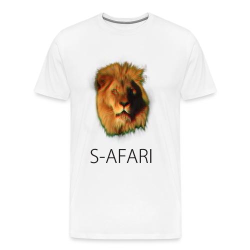 S-AFARI Lion - Men's Premium T-Shirt