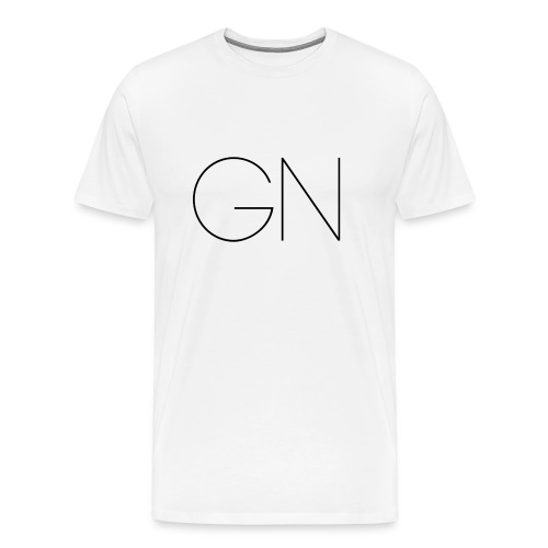 Långärmad tröja GN slim text - Premium-T-shirt herr