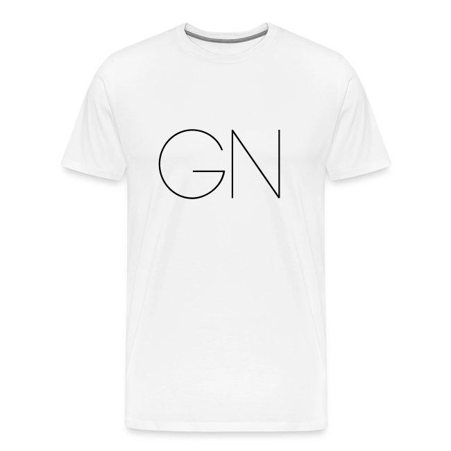 Långärmad tröja GN slim text