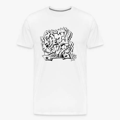 samy deluxe schwarz png - Männer Premium T-Shirt