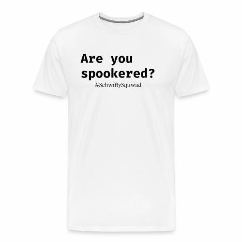 SchwiftySquwad Spookered - Men's Premium T-Shirt
