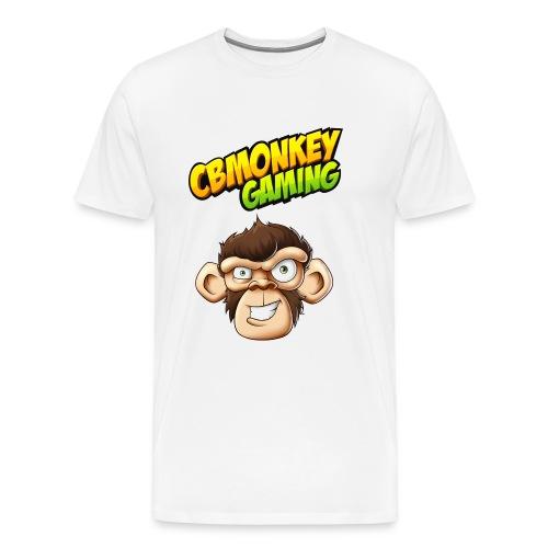 CBMonkey Logo fw png - Men's Premium T-Shirt