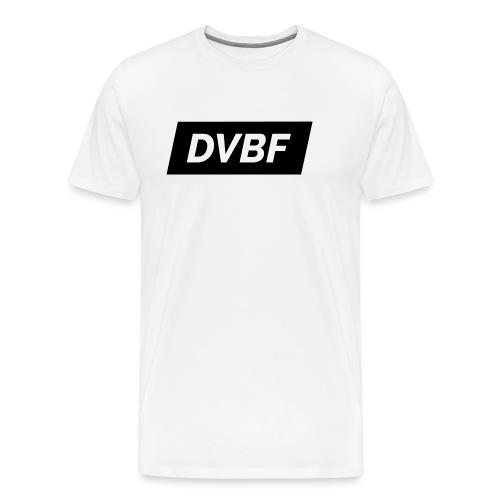 DVBF Svart - Premium-T-shirt herr