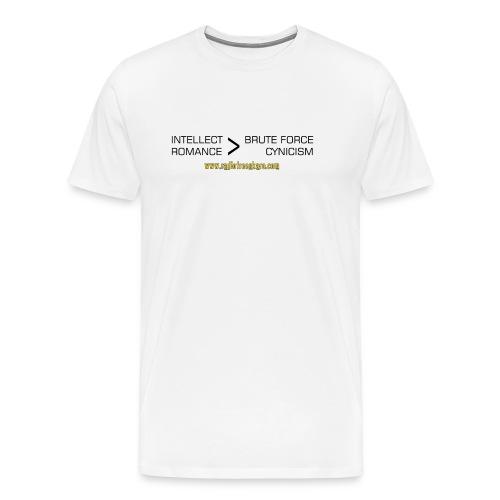 shirt intellect - Men's Premium T-Shirt
