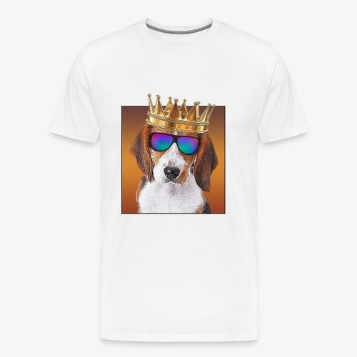Beagle king - Men's Premium T-Shirt