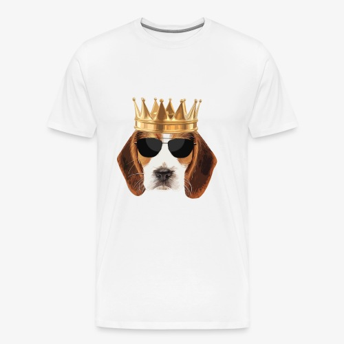 King Beagle - Men's Premium T-Shirt