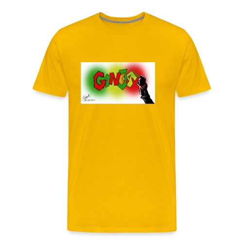 Ganja - Herre premium T-shirt