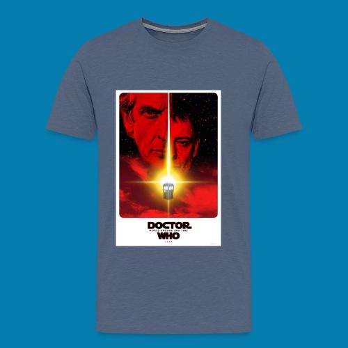 Twelfth Doctor and the Master poster - Maglietta Premium da uomo