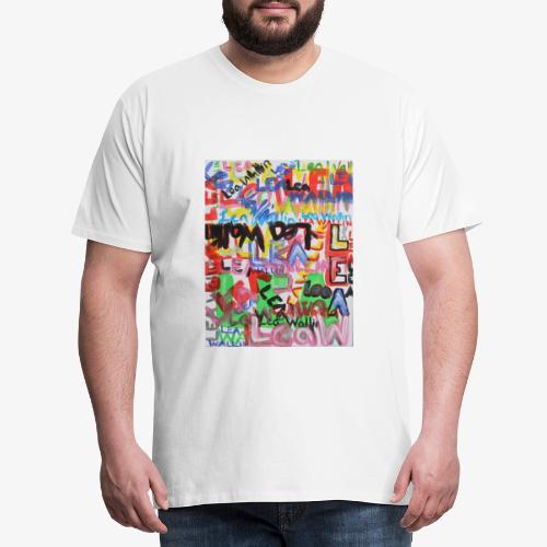 Lea Wallin - Premium-T-shirt herr