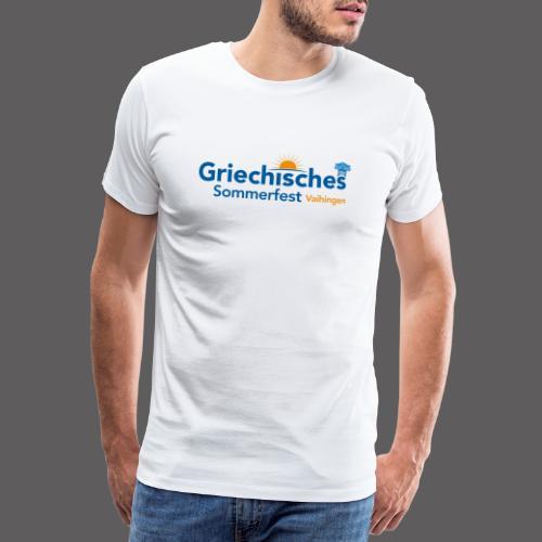 Griechisches Sommerfest Vaihingen - Männer Premium T-Shirt
