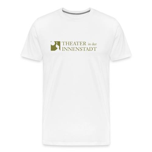 Theater In der Innenstadt Logo - Männer Premium T-Shirt