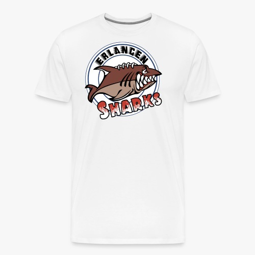 Erlangen Sharks Color - Männer Premium T-Shirt