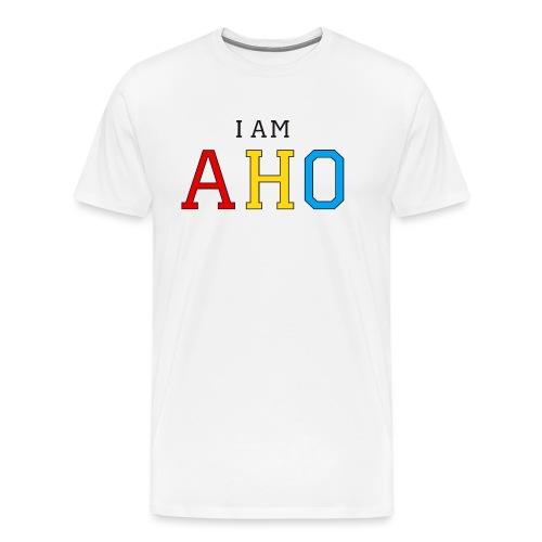 I am aho - Men's Premium T-Shirt