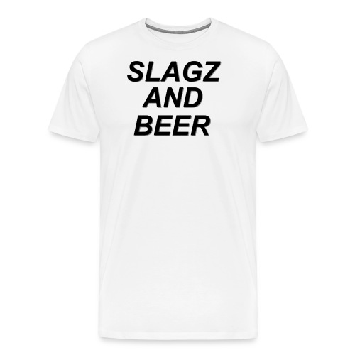 slagzandbeer - Men's Premium T-Shirt