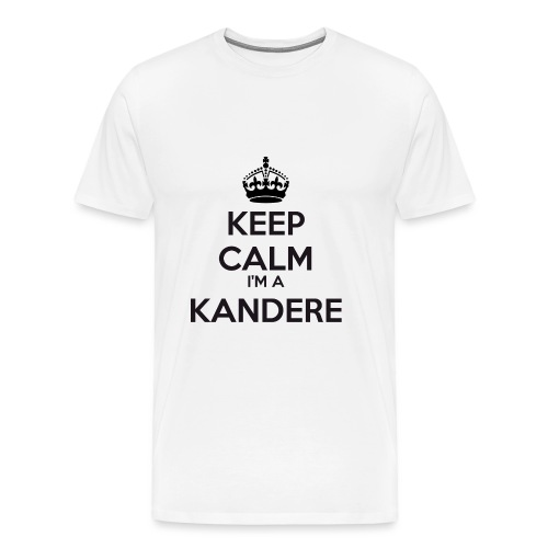 Kandere keep calm - Men's Premium T-Shirt