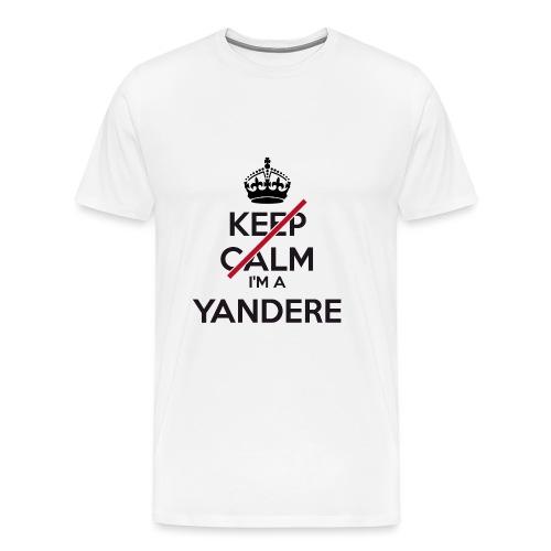 Yandere don't keep calm - Men's Premium T-Shirt