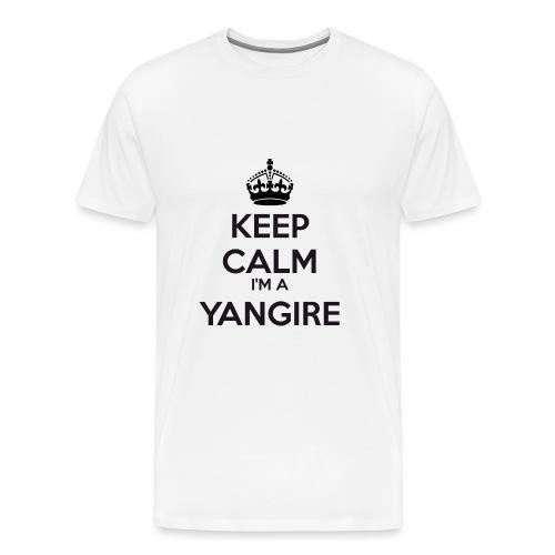 Yangire keep calm - Men's Premium T-Shirt