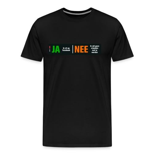 meisjeroze - Mannen Premium T-shirt