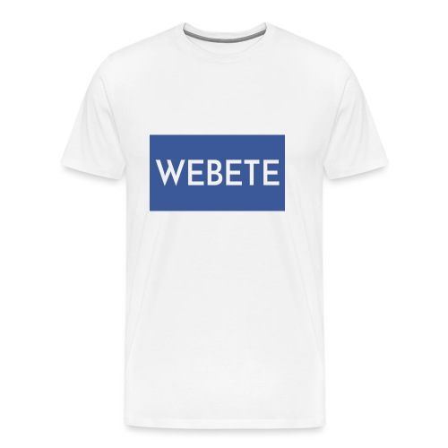 Webete - Men's Premium T-Shirt