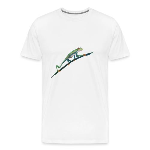 Red eyed frog - Männer Premium T-Shirt