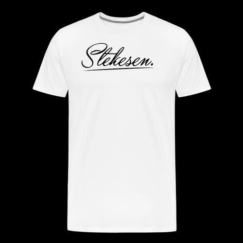 Stekesen - Premium T-skjorte for menn