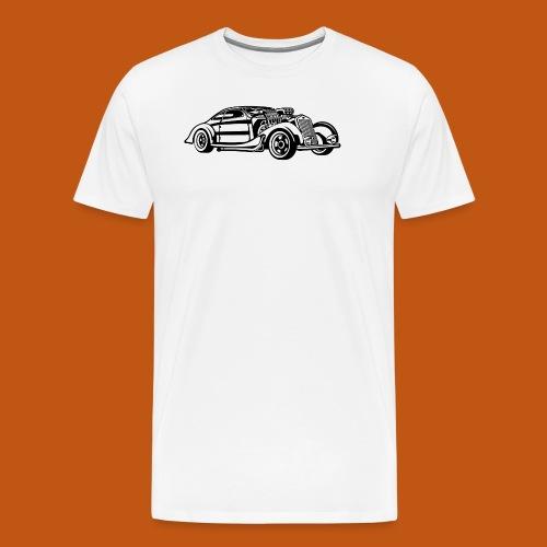 Hot Rod / Rad Rod 05_schwarz - Männer Premium T-Shirt