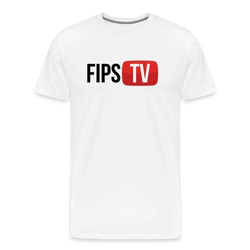fips tv logo png - Männer Premium T-Shirt