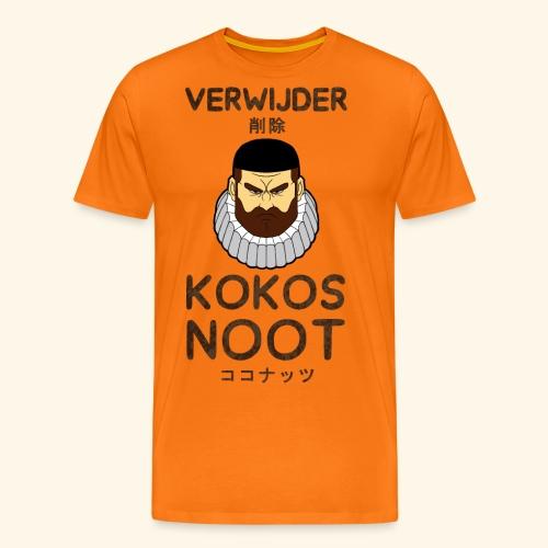 Verwijder Kokosnoot - Mannen Premium T-shirt