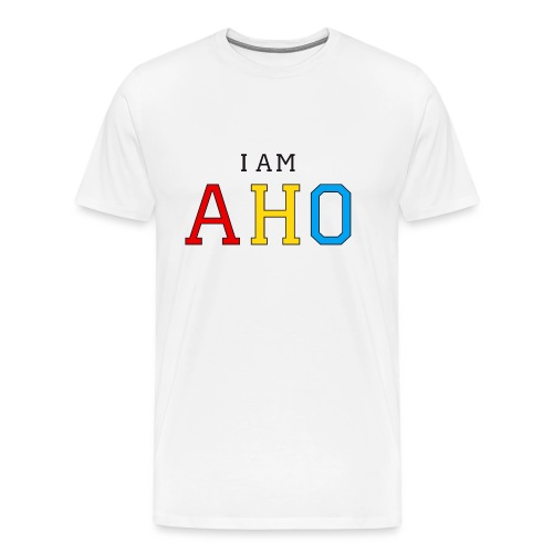 I am aho - Men's Premium T-Shirt