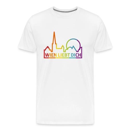 Wien Liebt Dich - Männer Premium T-Shirt
