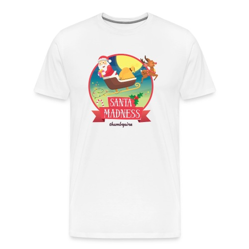 Santa Madness winner - Maglietta Premium da uomo
