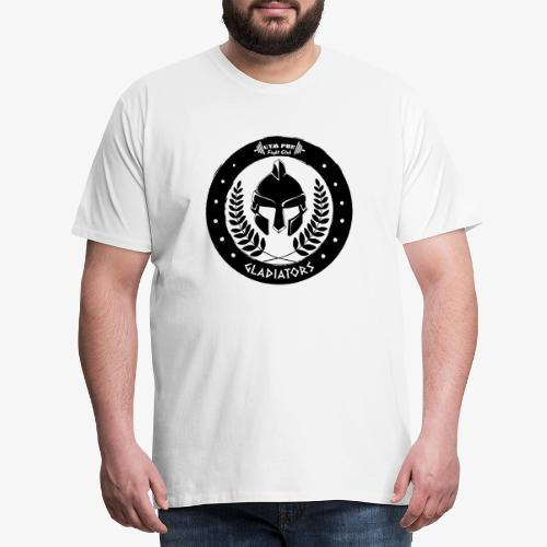 Gym Pur Gladiators Logo - Men's Premium T-Shirt