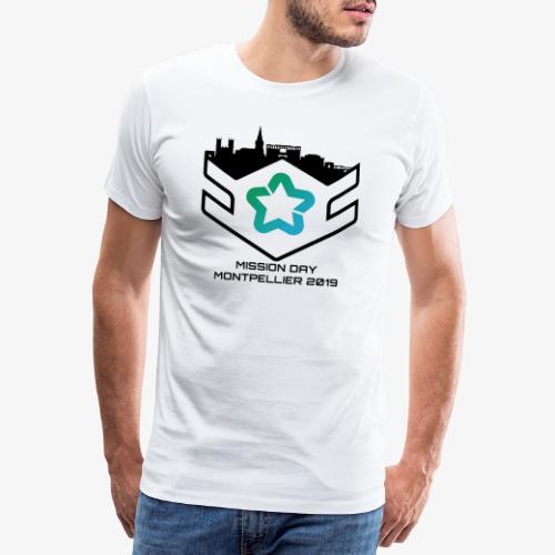 MD black - T-shirt Premium Homme