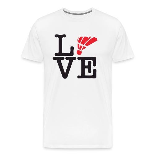 Badminton01 - T-shirt Premium Homme