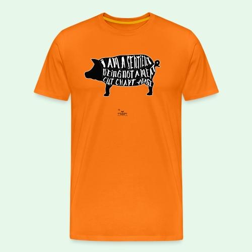 Sentient Being - Black - Premium-T-shirt herr
