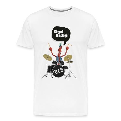 BiFi Drummer auf Hell - Men's Premium T-Shirt
