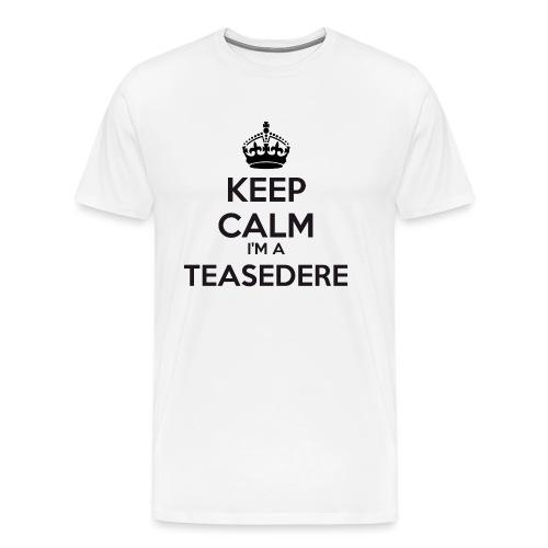 Teasedere keep calm - Men's Premium T-Shirt