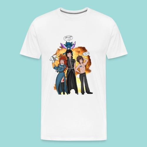 Commission - Fairy Tail - Men's Premium T-Shirt