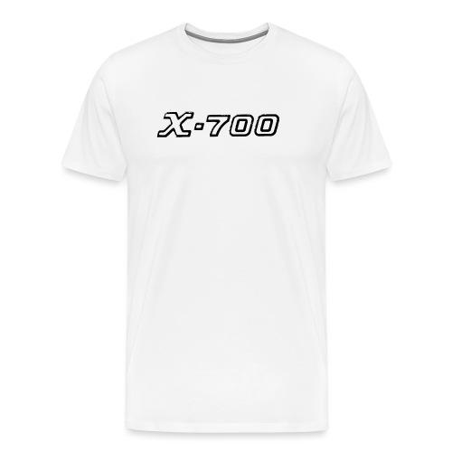 Minolta X-700 White - Maglietta Premium da uomo