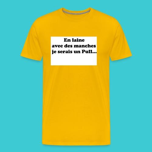 t-shirt humour - T-shirt Premium Homme