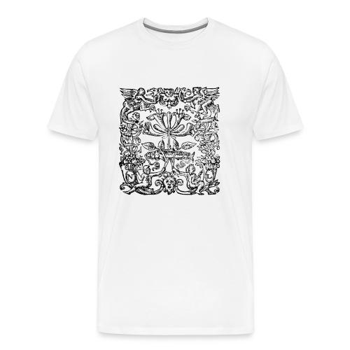hamlet - Premium-T-shirt herr