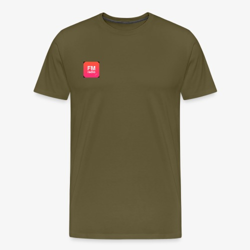 logo radiofm93 - Mannen Premium T-shirt