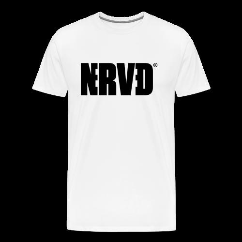 Official Nerved® Logo Black - Men's Premium T-Shirt