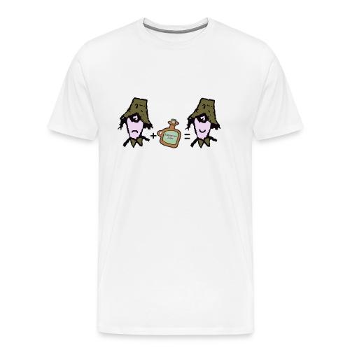 Zider = Appy cap - Men's Premium T-Shirt