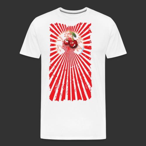 frkn cherry - Mannen Premium T-shirt