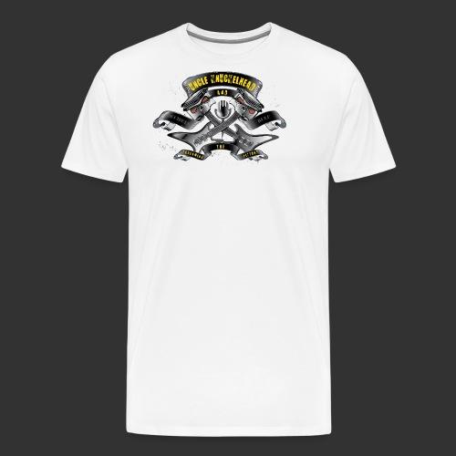 screaming pistons - Mannen Premium T-shirt