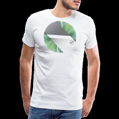 Abstrakt Kreis - Männer Premium T-Shirt