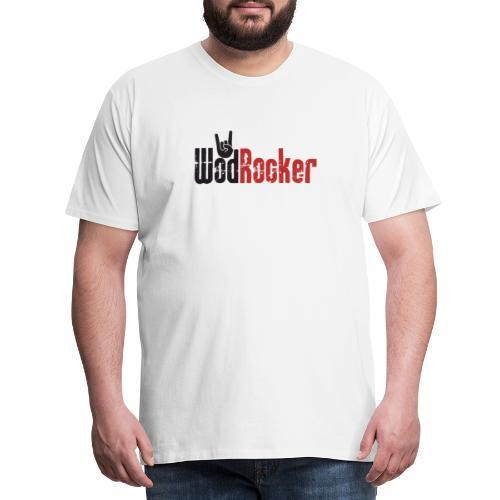 wodrocker logo - Men's Premium T-Shirt
