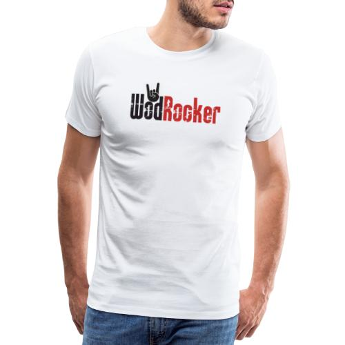 wodrocker logo - Men's Premium T-Shirt